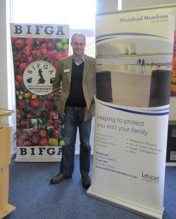 Neil Emery of Whitehaed Monckton addressed BIFGA members on Employment Law