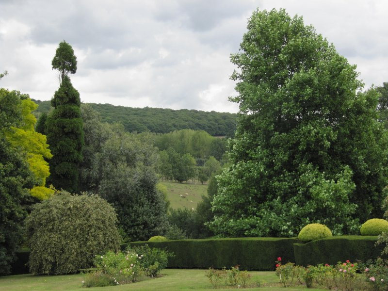 The views from Mount Ephraim gardens are stunning!