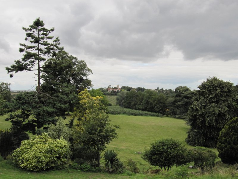 Magnificent views across Mount Ephraim estate to the Church at Herne Hill
