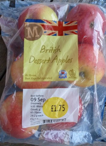 English Discovery in Morrisons.