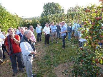 Dave Riccini - Informing Gala Club members about Gala at Gore Farm