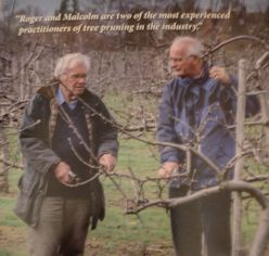 Roger Worraker and Malcolm Withnall - authors of The APPLE PRUNING Manual