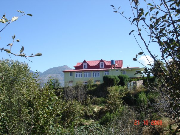 Lakshman Thakur's house in the Himalayas