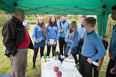 David Bishop explains the science of apple storage