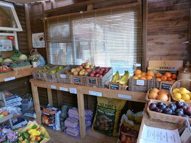 English Apple on display at Hope Cottage Farm Shop