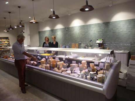 The Cheese Counter at Hartley Farm Shop