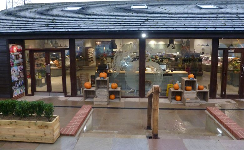 The brand spanking new Farm Shop