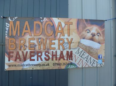The Madcat micro brewery